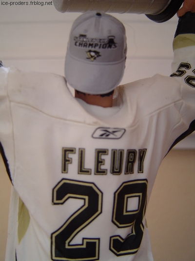 Marc-André Fleury - Stanley Cup 2009 - Penguins Pittsburgh - McFarlane NHL hockey sur glace