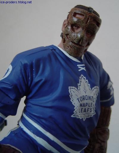 Terry Sawchuk - Maple Leafs Toronto - McFarlane NHL hockey sur glace