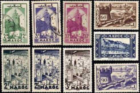 maroc collectionner des timbres et des pi ces de monnaie. Black Bedroom Furniture Sets. Home Design Ideas