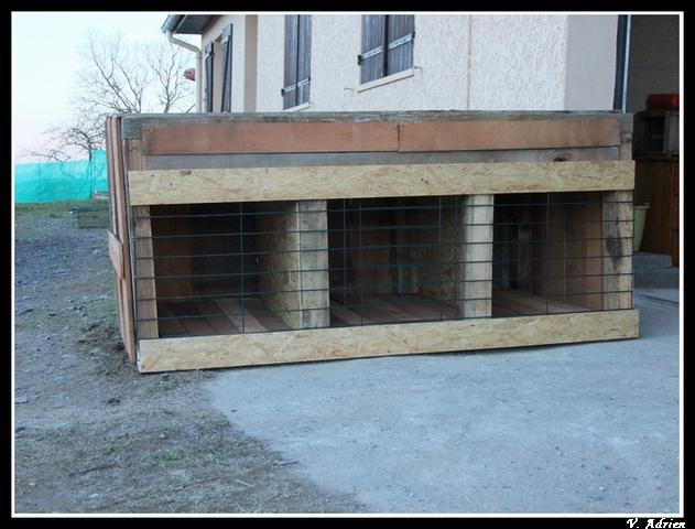 Plan construction clapier - Clapier lapin beton ...