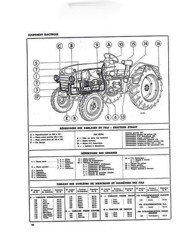 sch u00e9ma hydraulique d u0026 39 un tracteur
