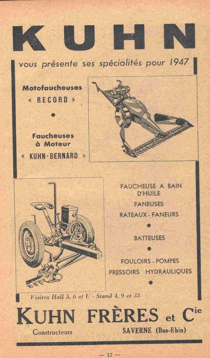Salon de la machine agricole de 1947 for Salon de la machine agricole