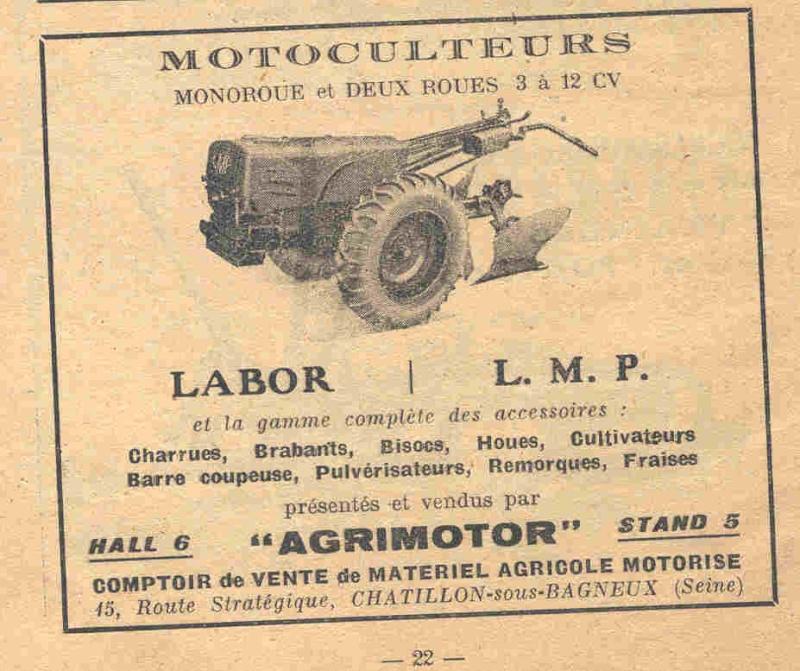Machine caf salon de la machine agricole de 1947 for Salon de la machine agricole