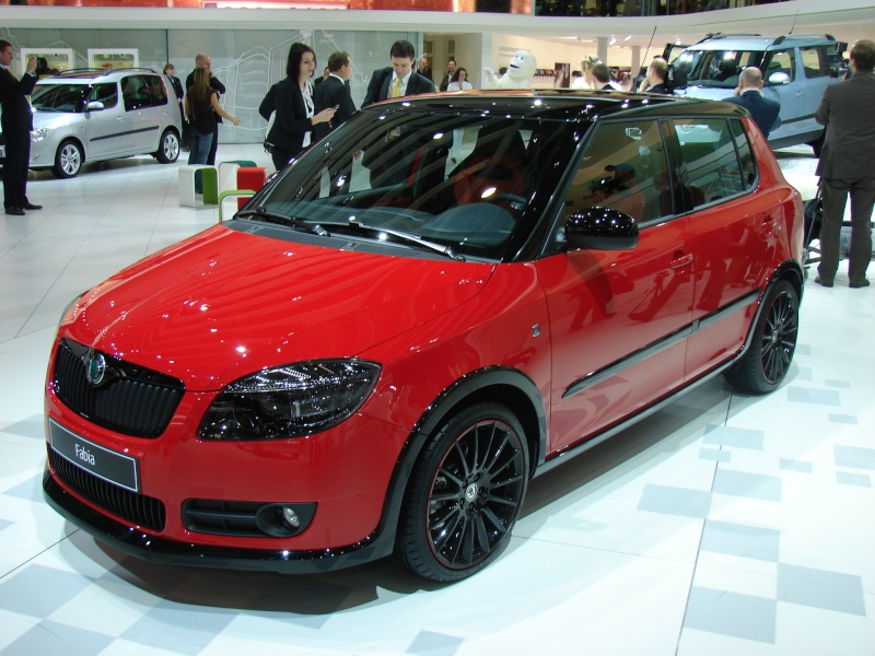 skoda fabia ii tuning. Black Bedroom Furniture Sets. Home Design Ideas
