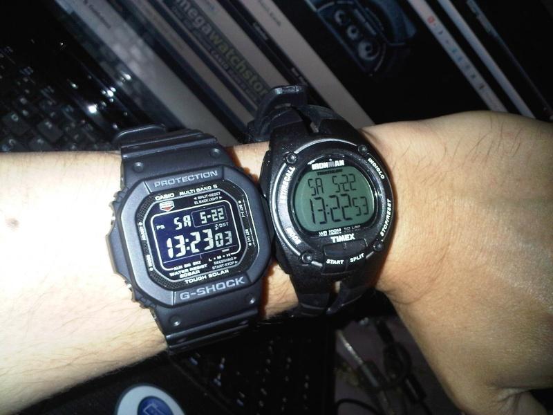 g shock versus timex