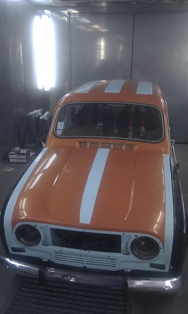 Peinture ext rieure partie 2 team centr4le n 1 - Nettoyer sa voiture au vinaigre blanc ...