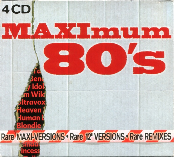 Various - MAXImum 80's - Rare 12'' Versions