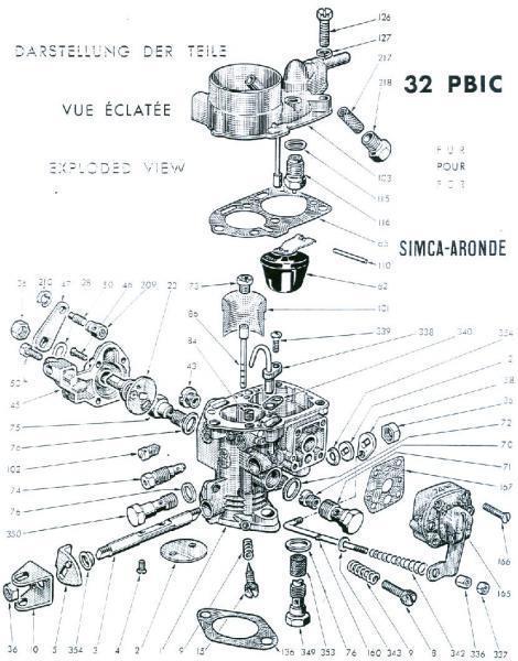 carbu solex 22 zcia
