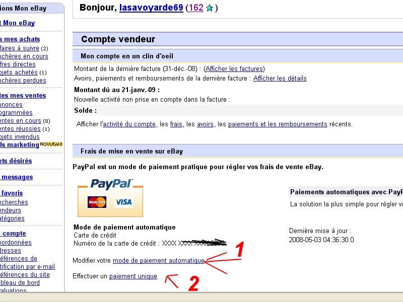 mettre en vente sur ebay