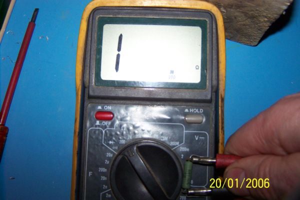 Wip pour la premier ns 39 tyl - Comment controler un condensateur ...