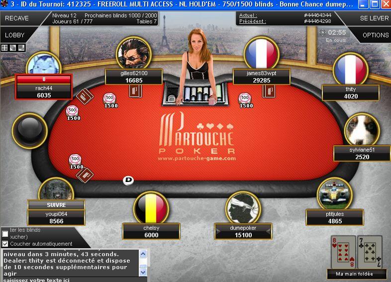 Joue au poker gratuitement sans inscription