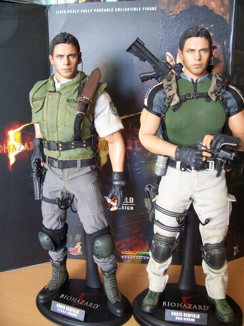 Hot toys chris redfield