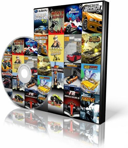 Racing Mobile Java Games Collection | 17 Games | Multilanguage | 17.4 Mb