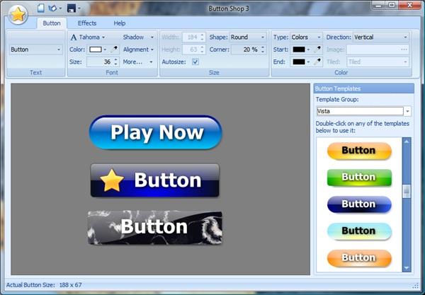 Kristanix Software Button Shop 4.17 (Portable)