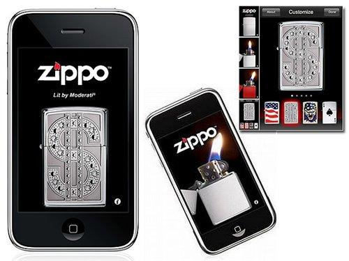 Iphone Virtual Zippo 1.1
