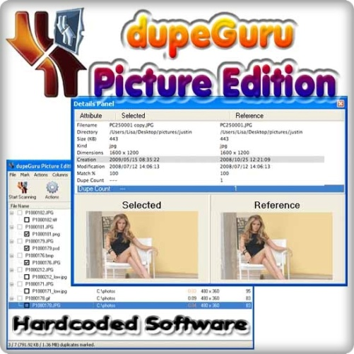Hardcoded Software dupeGuru Picture Edition v1.8.5