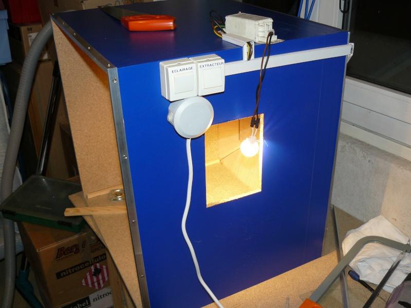 faire une cabine de peinture maison fabrication. Black Bedroom Furniture Sets. Home Design Ideas