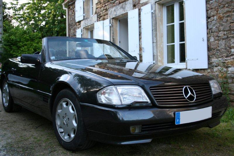 mercedes 300 sl 24 sl annee 1993. Black Bedroom Furniture Sets. Home Design Ideas