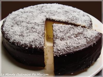Gateau cake noix de coco