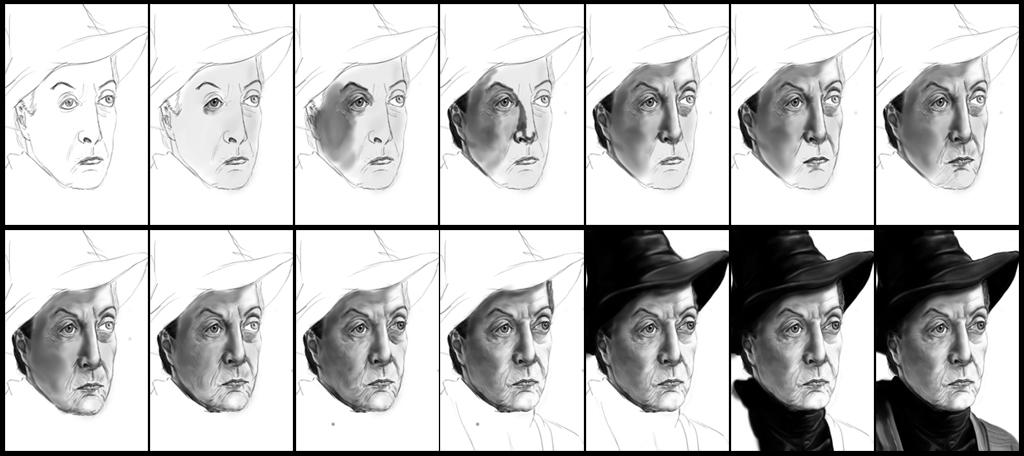 Galería de dibujos (Photoshop) IV