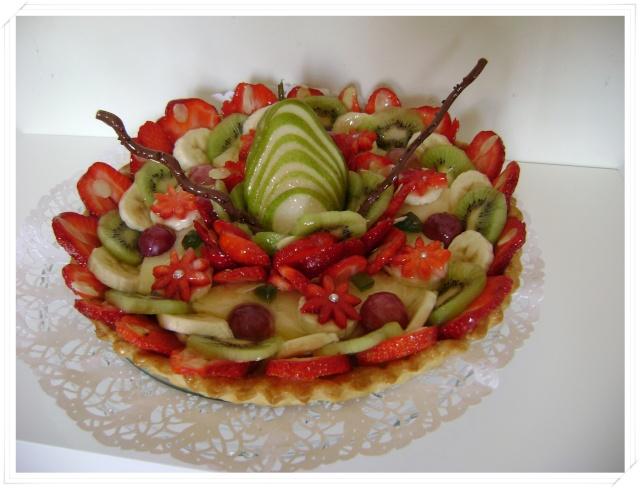 comment décorer fruits