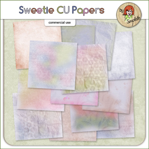 sweetie CU papers by Simplette