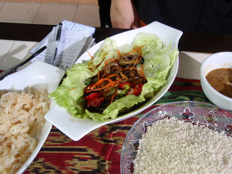 The bez sarawak local food for X cuisine miri