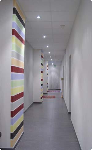Peintures pour hall d 39 entr e avec vide sur hall - Peinture pour entree ...