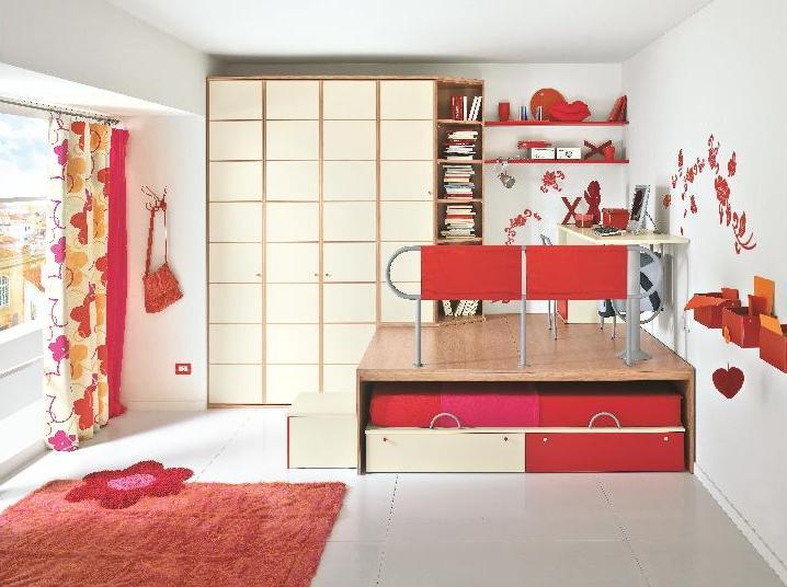 Chambre d ado un gain de place pour am nager une chambre - Lit pour studio gain de place ...