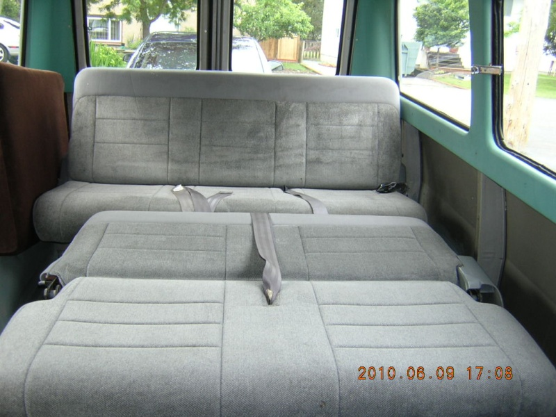 Ford Van Bench Seat Bed