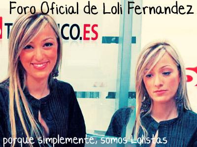 Foro oficial de Loli Fernández