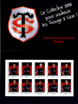 Timbre France - Stade Toulousin (Rugby) - Emission 2010