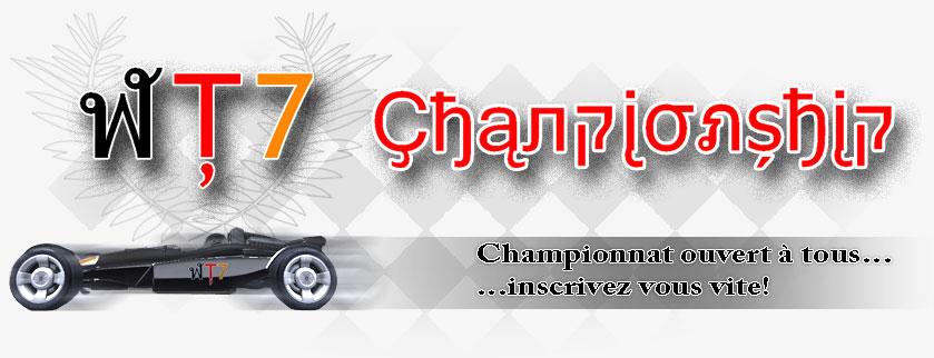Wt7 championship
