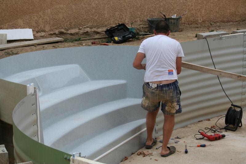 Ma piscine for Construction piscine waterair celine