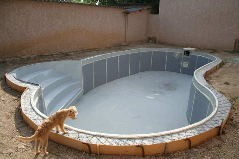 Ma piscine for Pose margelle piscine