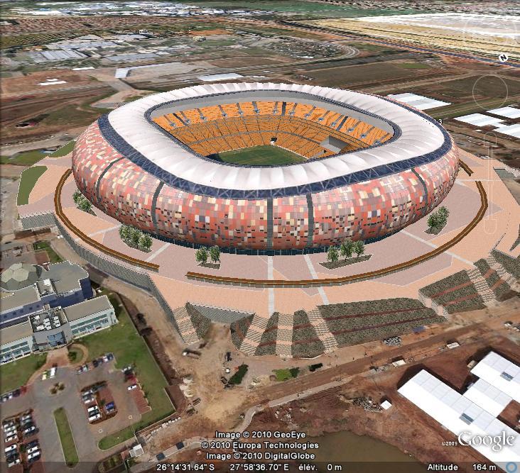 Stades coupe du monde afrique du sud 2010 - Coupe du monde foot afrique du sud ...