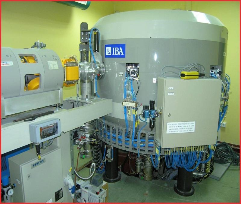 Resultado de imagen de Ciclotrón para la producción de isótopos para usos médico