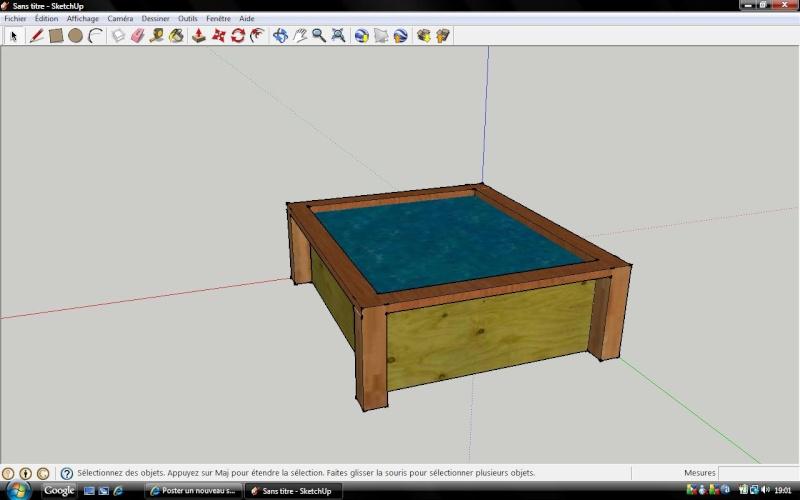 bassin 400l fait maison. Black Bedroom Furniture Sets. Home Design Ideas