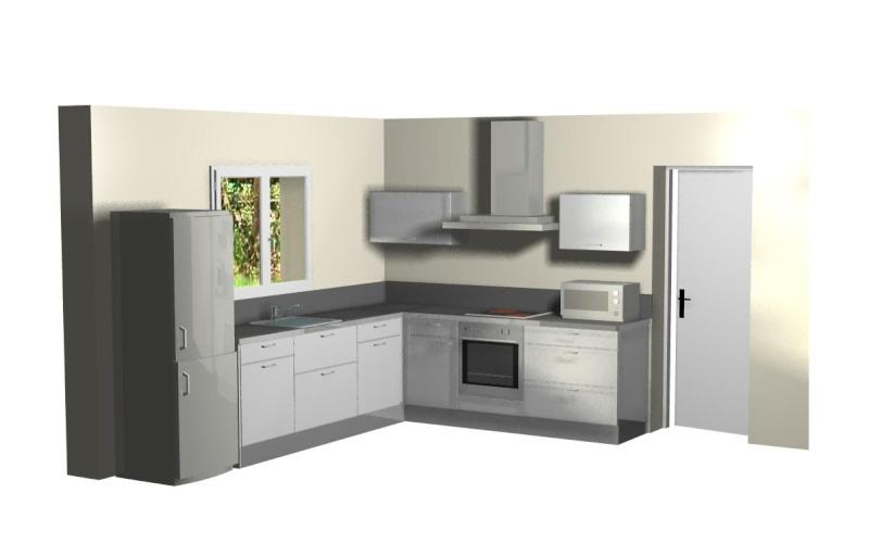Notre projet se pr cise la cuisine est pos e photos for Pose evier cuisine