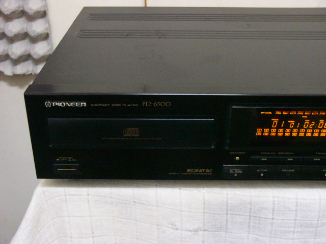 Pioneer Pd 6500 Cd Player Used Sold