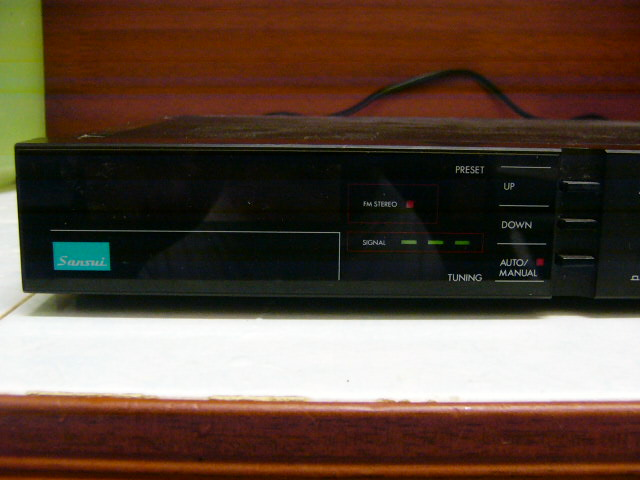 Sansui Digital Tuner T M70 Used Sold