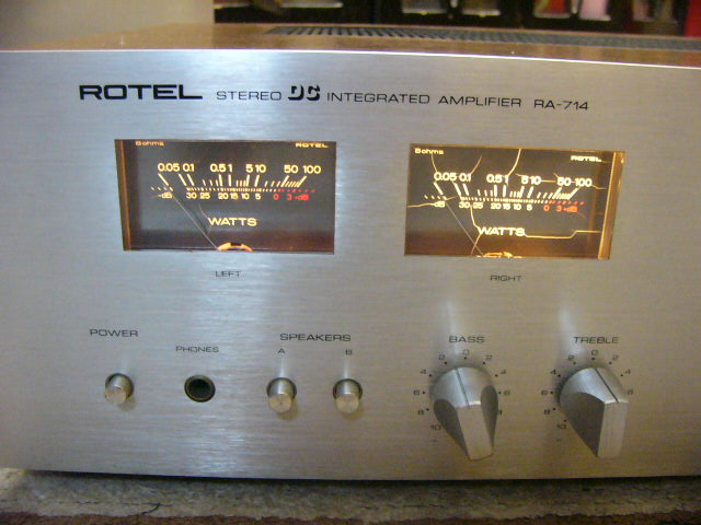Rotel Ra 714 Dc Vintage Amp Used Sold