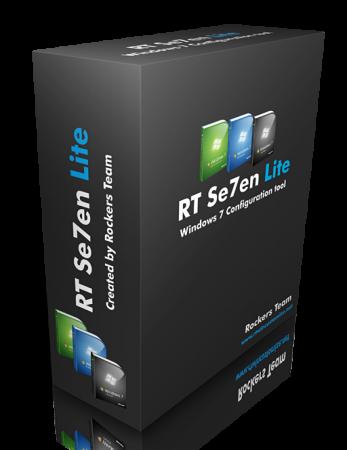 [Tuto] préparer et alléger Windows 7 avec RT Se7en Lite