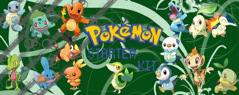 Pokémon Starter kit