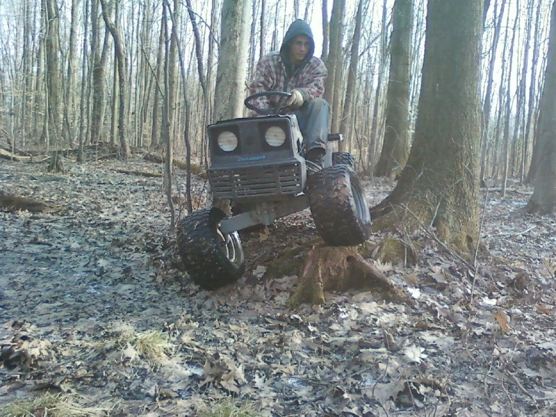 Mtd Mud Mowers : Dynamark trail mower page