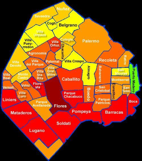 Emisora nacional argentina mapa de la inseguridad 2011 for Muebles de oficina buenos aires capital federal
