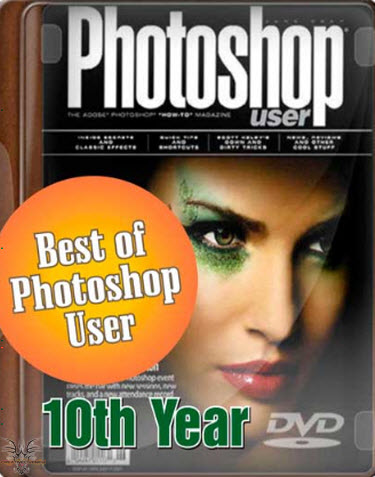 Best of Photoshop User Magazine 10th Year – DVD Interactive Tutorials