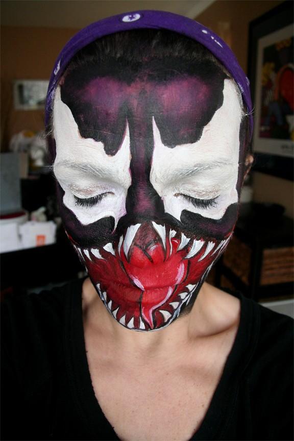 Venom Spiderman Face