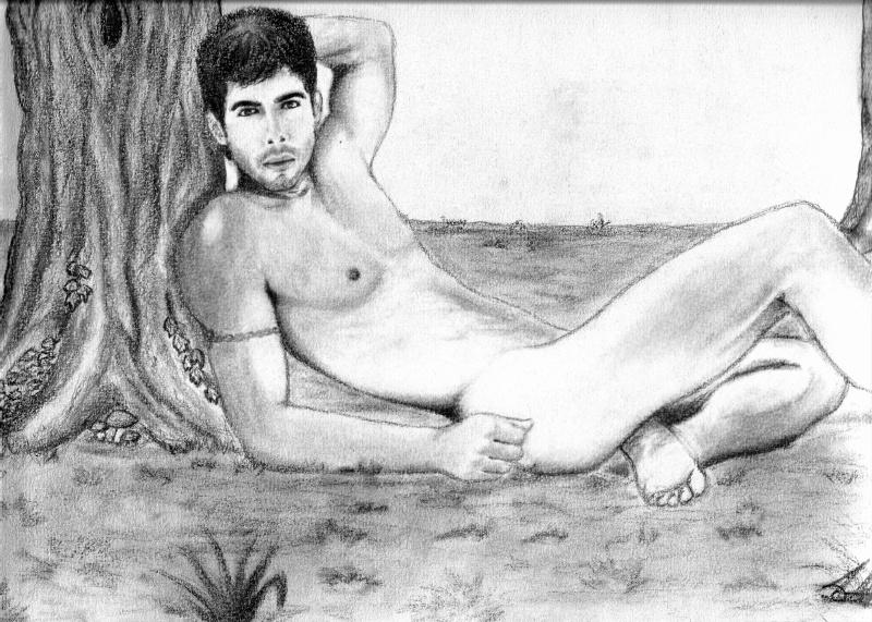 Comment dessiner un homme nu