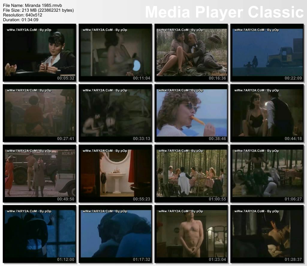 فيلم الإغراء المثير Miranda 1985